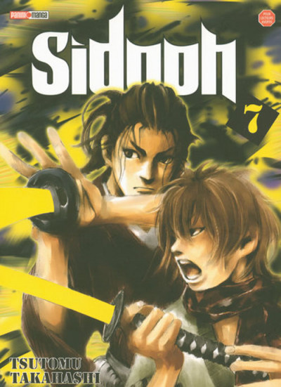 Couverture sidooh tome 7