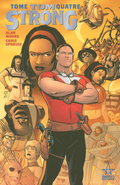 Couverture tom strong tome 4