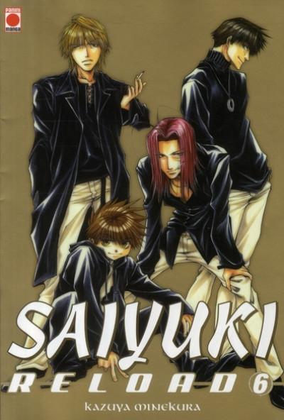 Couverture saiyuki reload tome 6