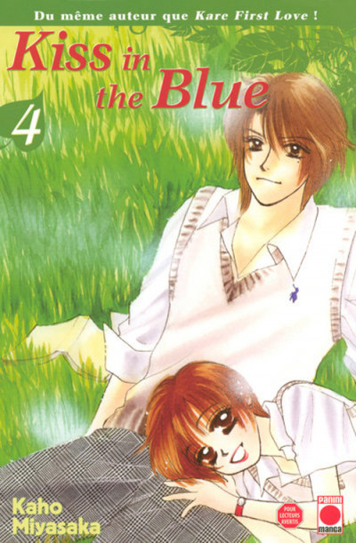 Couverture kiss in the blue tome 4