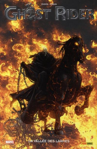Couverture ghost rider tome 5 - La vallée des larmes