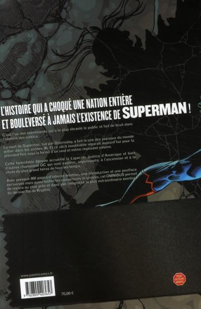 Dos Superman - la mort de Superman