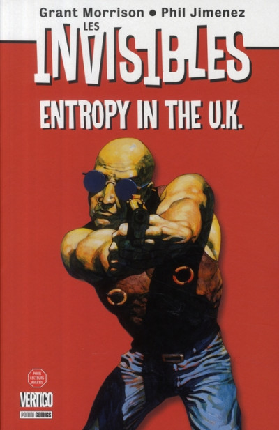 Couverture invisibles tome 2 - entropy in the u.k.