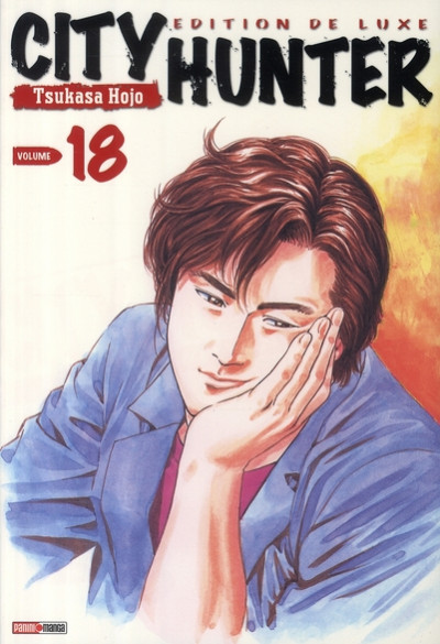 Couverture city hunter tome 18