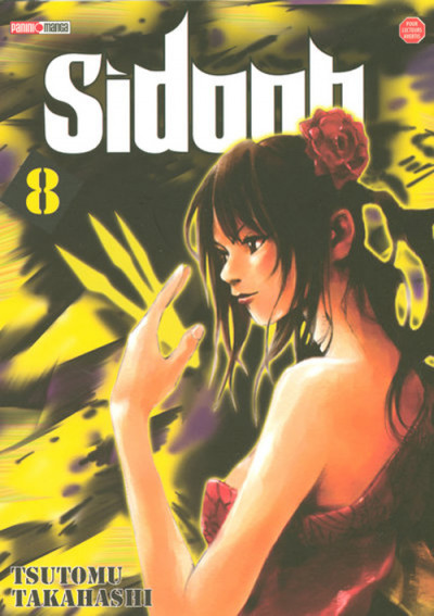 Couverture sidooh tome 8