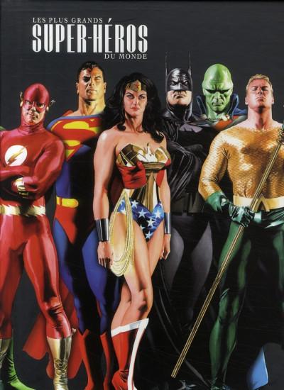 Couverture les plus grands super-héros du monde