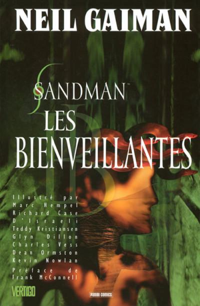Couverture sandman tome 9 - les bienveillantes
