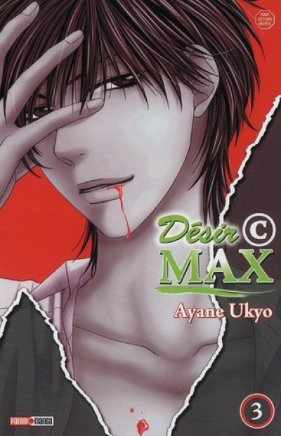 Couverture désir©max tome 3