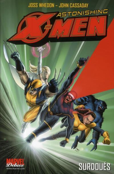 Couverture Astonishing x-men (Marvel Deluxe) tome 1 - surdoués