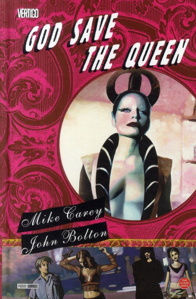 Couverture god save the queen