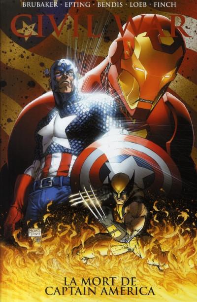 Couverture Civil war tome 3 (deluxe)