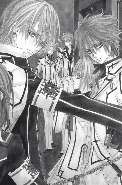 Page 7 vampire knight tome 7