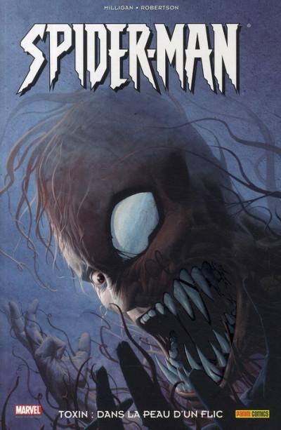 Couverture spider-man - toxin : dans la peau d'un flic