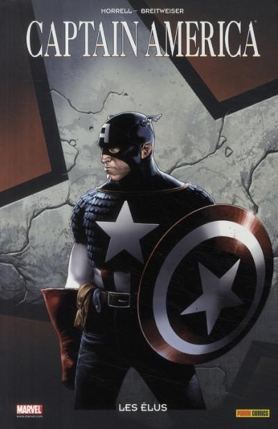 Couverture captain america ; les élus