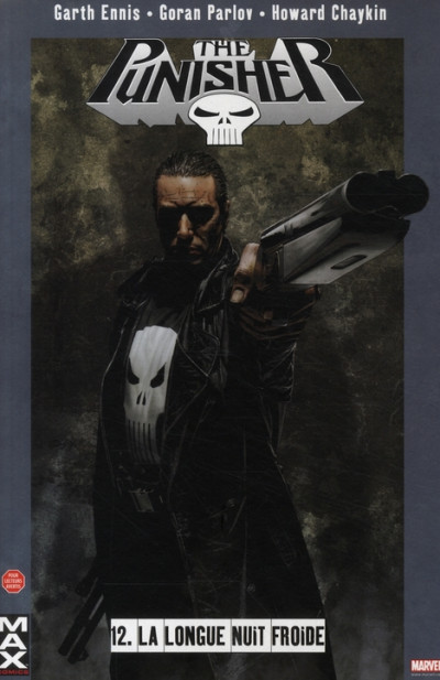 Couverture the punisher tome 12 - la longue nuit froide