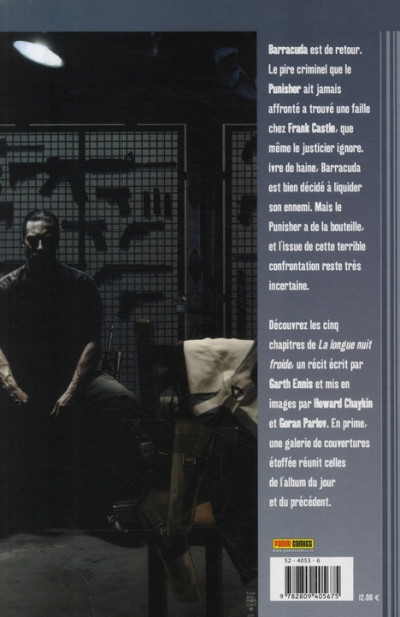 Dos the punisher tome 12 - la longue nuit froide