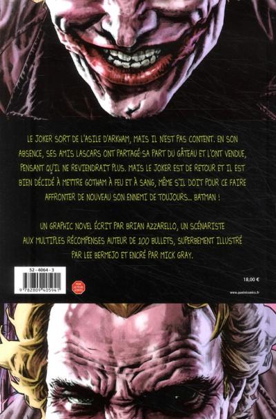 Dos batman ; joker