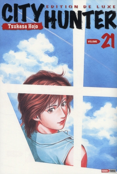 Couverture city hunter tome 21