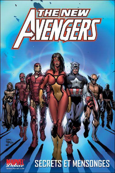 Couverture the new avengers tome 2 - secrets et mensonges