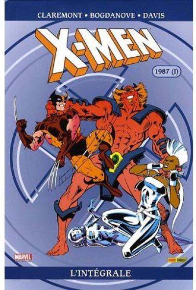 Couverture x-men - intégrale tome 16 - 1987 tome 1