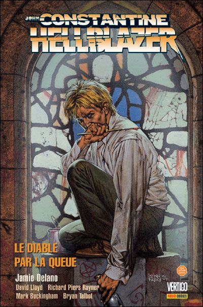 Couverture hellblazer ; stations of the cross