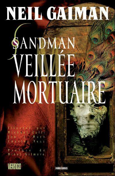 Couverture sandman tome 10 - veillée mortuaire