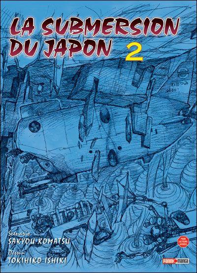 Couverture la submersion du japon tome 2