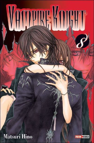 Couverture vampire knight tome 8