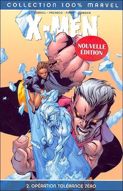 Couverture X-men tome 2