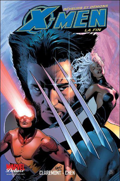 Couverture x-men - la fin tome 1 - rêveurs et démons