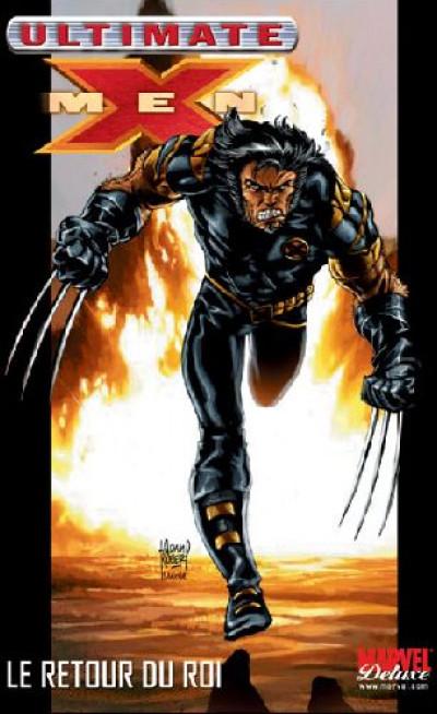 Couverture ultimate x-men tome 3 - le retour du roi