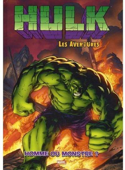 Couverture hulk tome 2 - homme ou monstre ?
