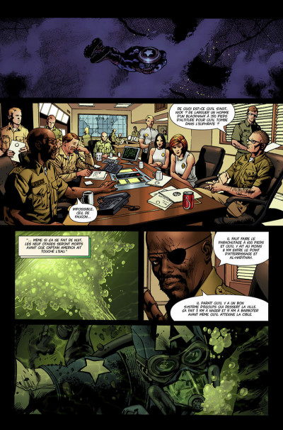 Page 8 ultimates tome 2 - secret d'état