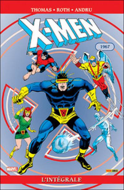 Couverture x-men ; intégrale 1967
