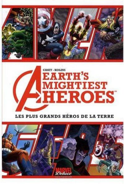 Couverture avengers - les plus grands héros de la terre tome 1
