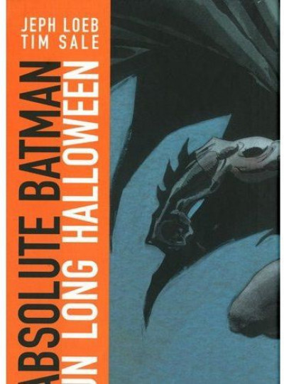 Couverture batman ; un long halloween