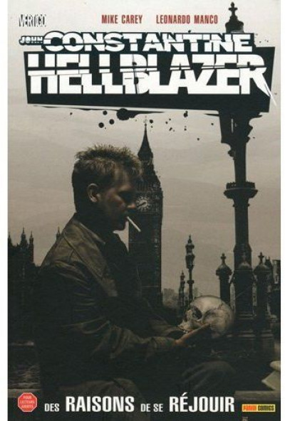 Couverture hellblazer ; reasons to be cheerful