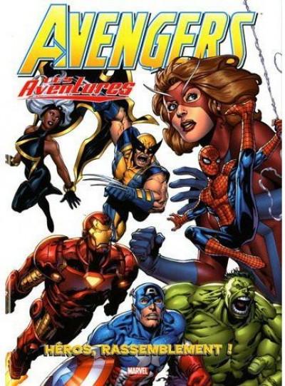 image de avengers, les aventures tome 1 - héros, rassemblement