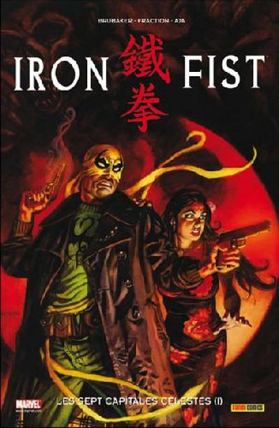 Couverture iron fist tome 2 - les sept capitales célestes tome 1