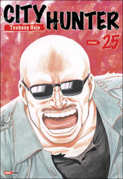 Couverture city hunter tome 25