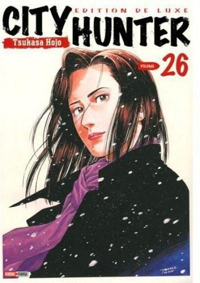 Couverture city hunter tome 26