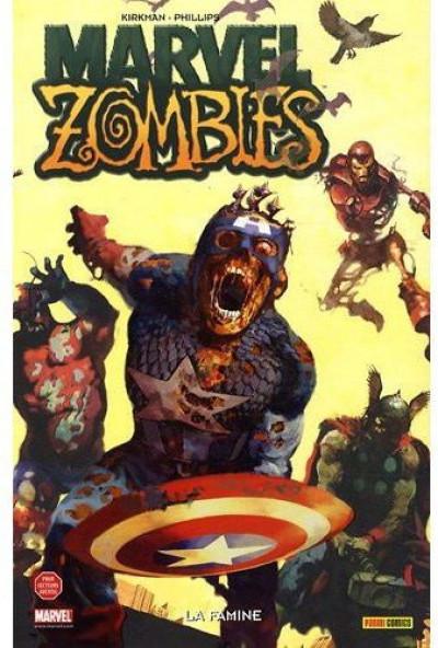 Couverture marvel zombies tome 1 - la famine