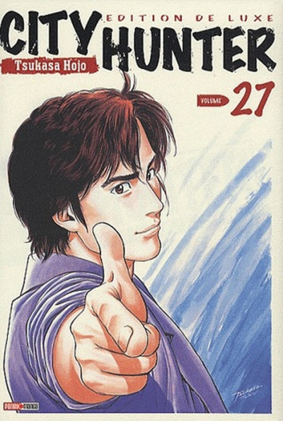 Couverture city hunter tome 27