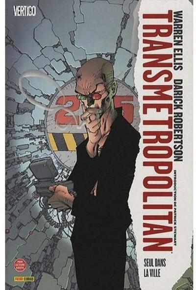 Couverture transmetropolitan tome 3 - seul dans la ville (édition 2009)