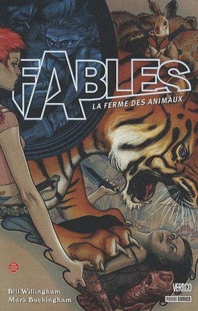Couverture fables tome 2 - la ferme des animaux