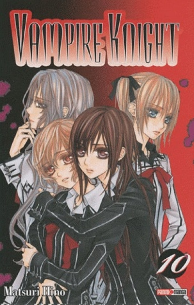 Couverture vampire knight tome 10