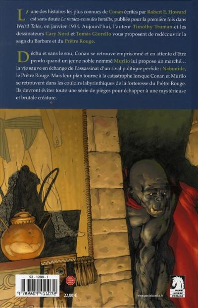 Dos conan le barbare tome 3 - le rendez-vous des bandits