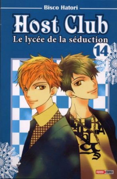 Couverture host club tome 14