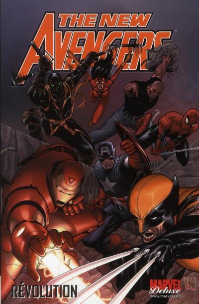 Couverture the new avengers tome 3 - révolution