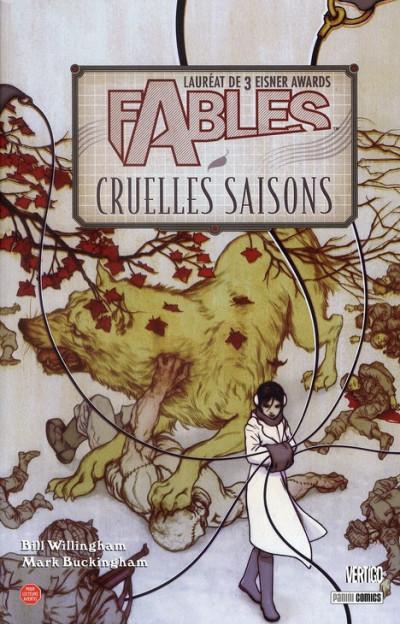 Couverture fables tome 6 - cruelles saisons